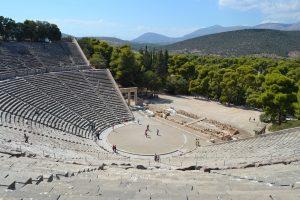Teatro nell'antica grecia Epidauro